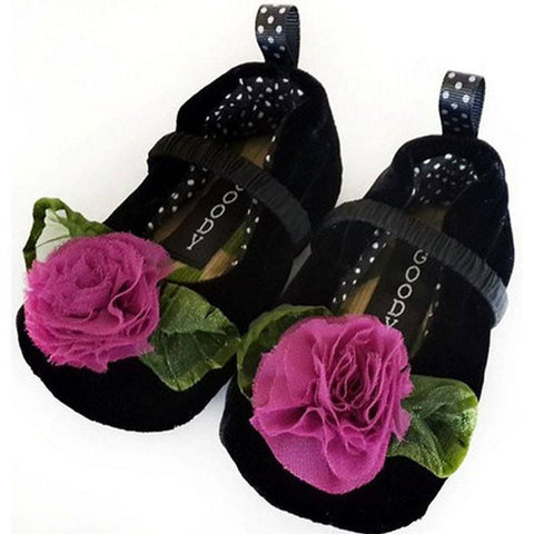 The Velvet Maggie Slippers ~ Infants - Cece & Me - Home and Gifts