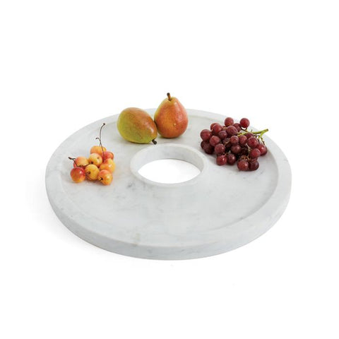 Marble Hors D'oeuvre Platter - Cece & Me - Home and Gifts