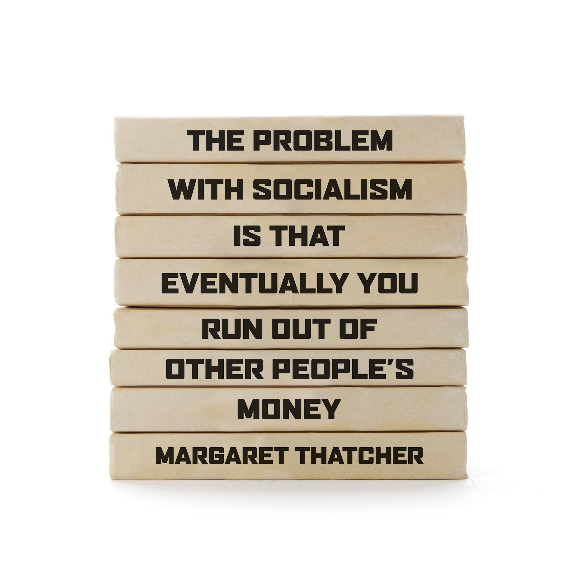 Margaret Thatcher Quote Books Bundle
