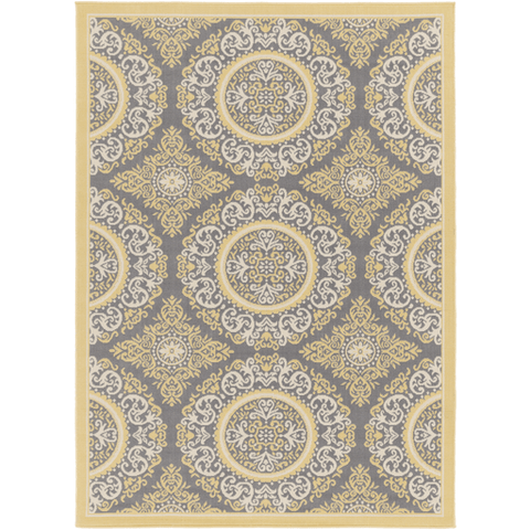 Image of Marina Rug ~ Tan/Khaki/Medium Gray - Cece & Me - Home and Gifts