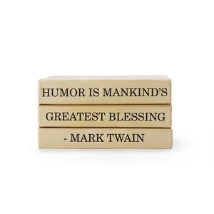 Mark Twain Quote Books Bundle - Cece & Me - Home and Gifts