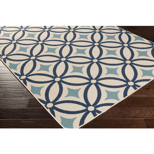 Mattheis Rug ~ Navy/Denim/Khaki - Cece & Me - Home and Gifts
