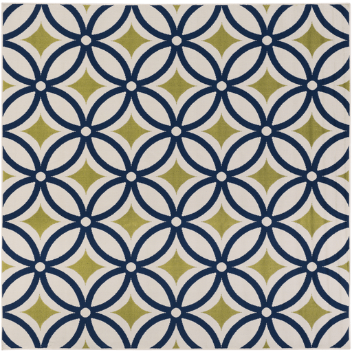 Mattheis Rug ~ Navy/Lime/Khaki - Cece & Me - Home and Gifts