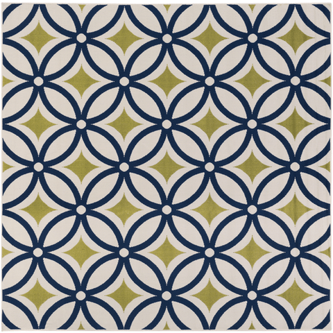 Image of Mattheis Rug ~ Navy/Lime/Khaki - Cece & Me - Home and Gifts