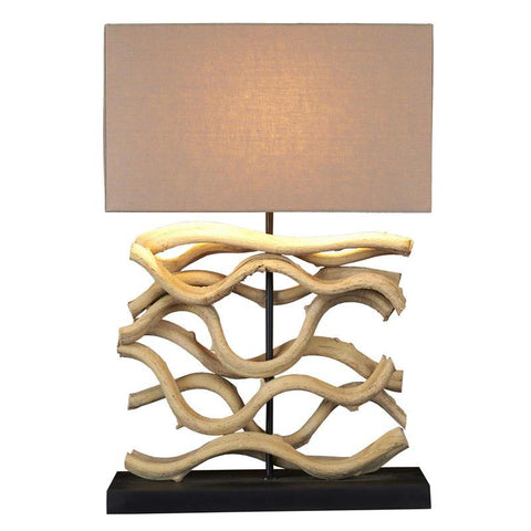 Medium Sculpture Table Lamp - Cece & Me - Home and Gifts