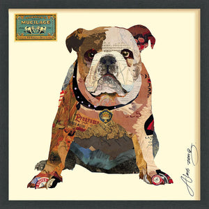 Men's Best Bully ~ Art Collage - Cece & Me - Home and Gifts