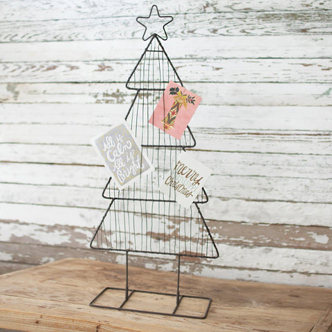 Metal Christmas Card Tree - Cece & Me - Home and Gifts