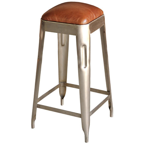 Metal Press Counter Stool - Cece & Me - Home and Gifts