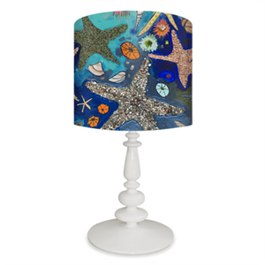 Metallic Starfish Lamp - Cece & Me - Home and Gifts