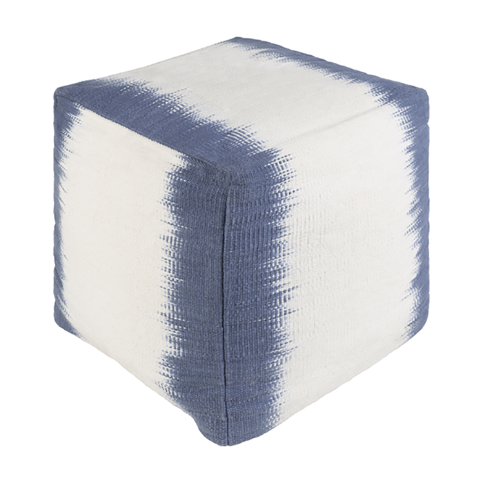 Milford Pouf ~ Denim - Cece & Me - Home and Gifts