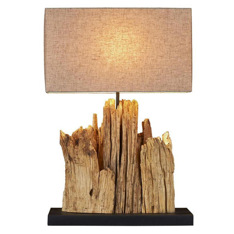 Mini Vertico Riverine Driftwood Table lamp - Cece & Me - Home and Gifts