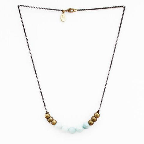 Mint Julep Necklace in Amazonite - Cece & Me - Home and Gifts
