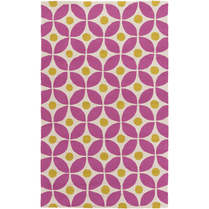 Miranda Rug ~ Bright Pink & Lime - Cece & Me - Home and Gifts