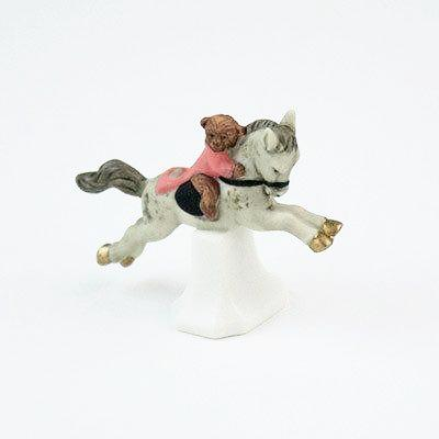 Image of Fun Circus Porcelain Candle Holder - Monkey Show - Cece & Me - Home and Gifts