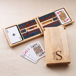 Cribbage Game ~ Monogrammed - Cece & Me - Home and Gifts