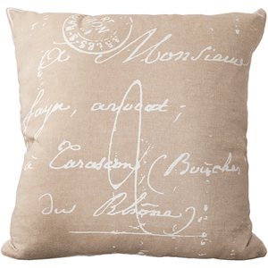 Montpellier Pillow ~ Camel - Cece & Me - Home and Gifts