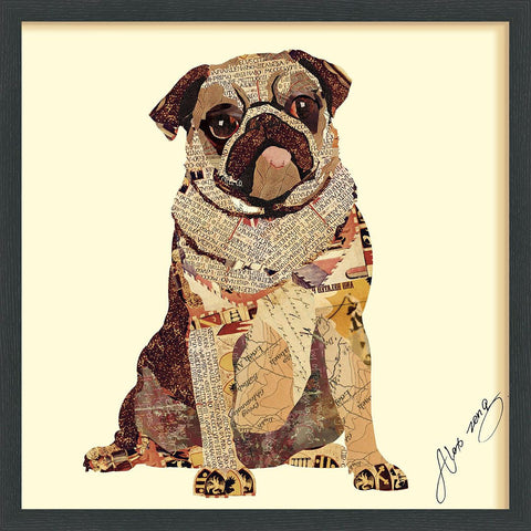 Image of My Puggy ~ Art Collage - Cece & Me - Home and Gifts