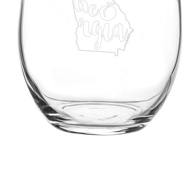 Image of My State Stemless Wine Glasses (Set of 4) - Cece & Me - Home and Gifts