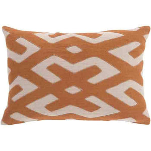 Nairobi Linen Pillow ~ Burnt Orange