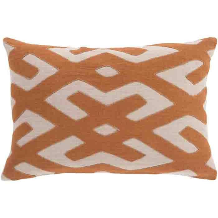 Nairobi Linen Pillow ~ Burnt Orange - Cece & Me - Home and Gifts