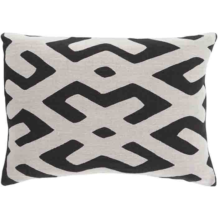 Nairobi Linen Pillow ~ Black - Cece & Me - Home and Gifts