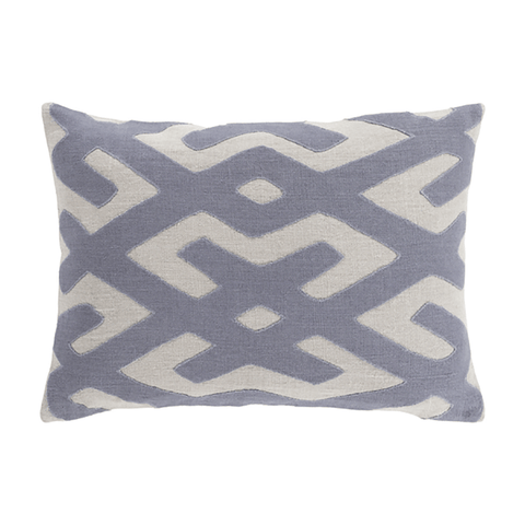 Image of Nairobi Linen Pillow ~ Light Gray - Cece & Me - Home and Gifts