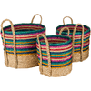 Nalani Baskets (Set of 3) - Cece & Me - Home and Gifts