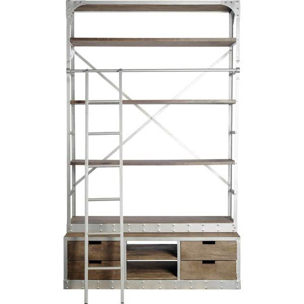 Covet Iron Bookcase - Cece & Me - Home and Gifts