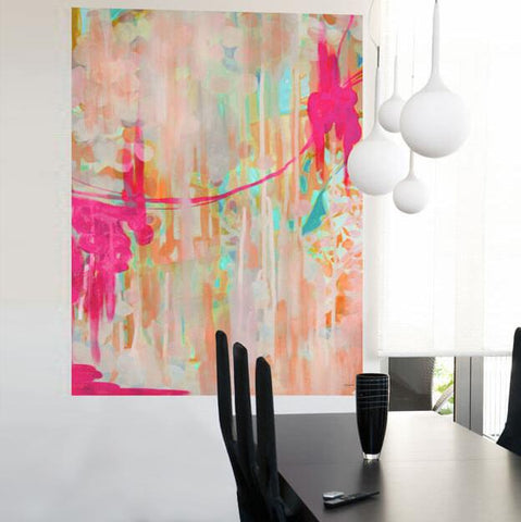 Image of Neon Jellyfish Mural Decals - Cece & Me - Home and Gifts