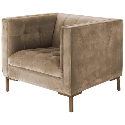 Image of Odin Velvet Club Chair I - Cece & Me - Home and Gifts