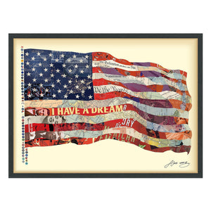 Old Glory ~ Art Collage - Cece & Me - Home and Gifts