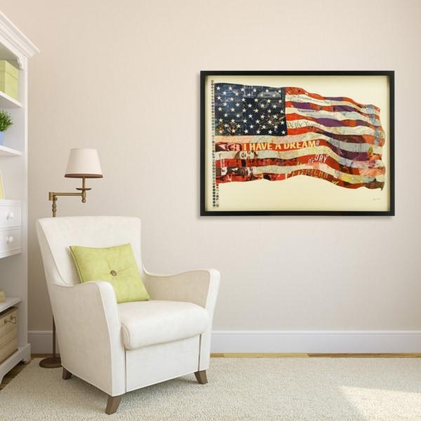 Old Glory ~ Art Collage