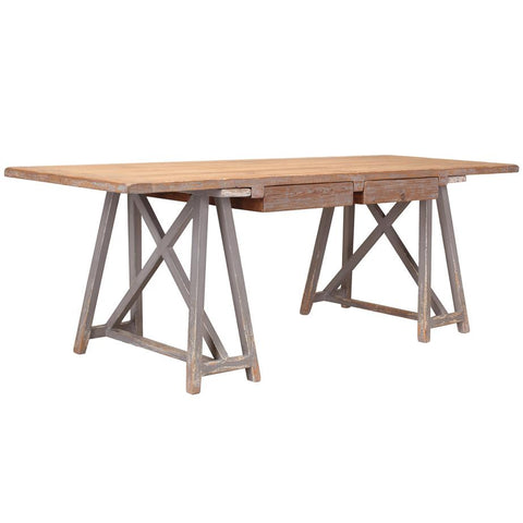 Sawbuck Desk - Cece & Me - Home and Gifts