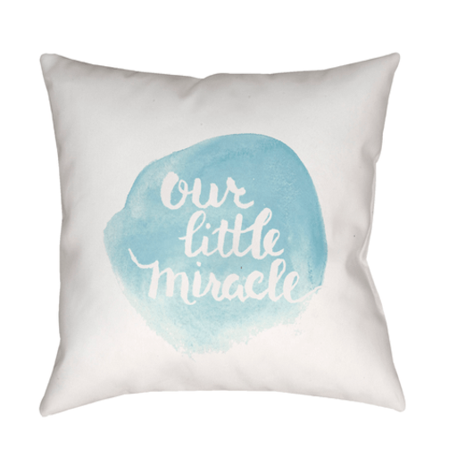 Our Little Miracle Pillow ~ Blue - Cece & Me - Home and Gifts