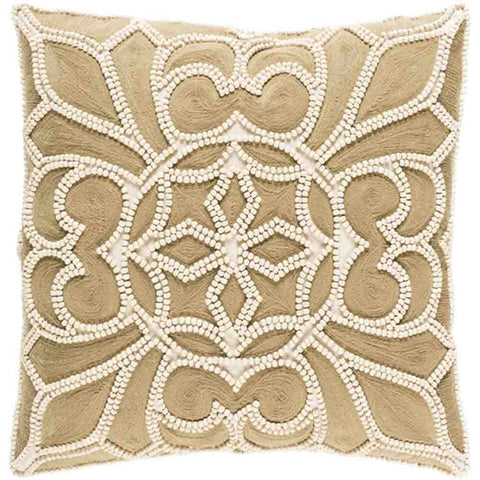 Image of Baja Pillow ~ Camel & Cream - Cece & Me - Home and Gifts