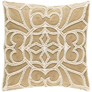 Baja Pillow ~ Camel & Cream - Cece & Me - Home and Gifts