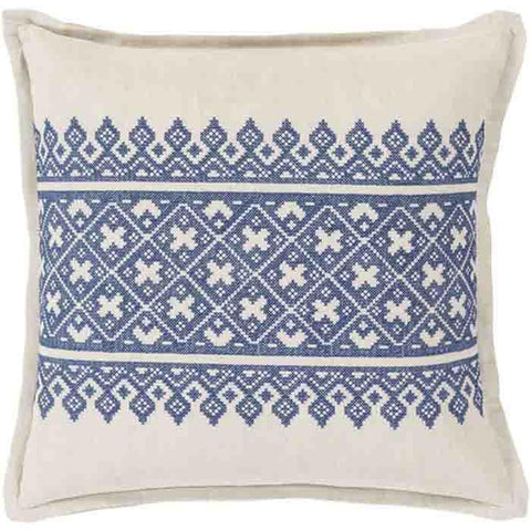 Image of Pentas Pillow ~ Dark Blue - Cece & Me - Home and Gifts