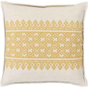 Pentas Pillow ~ Mustard - Cece & Me - Home and Gifts