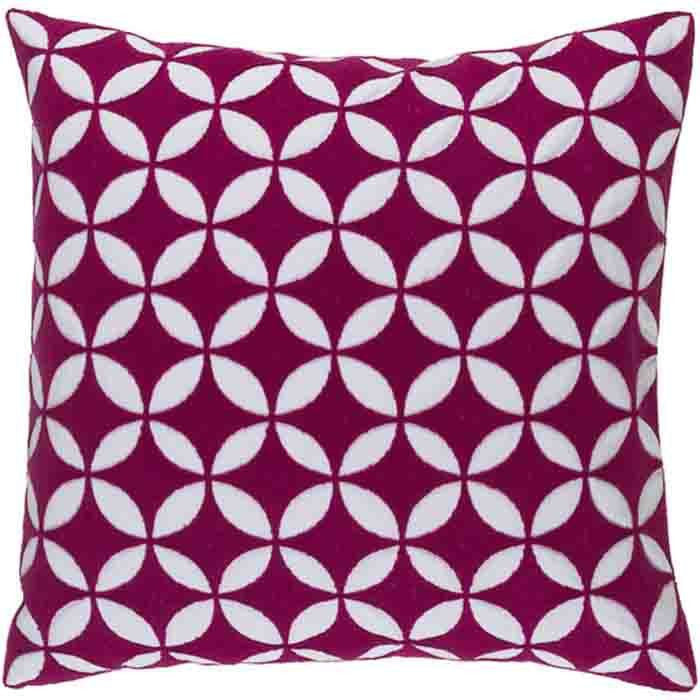Perimeter Pillow ~ Bright Pink - Cece & Me - Home and Gifts