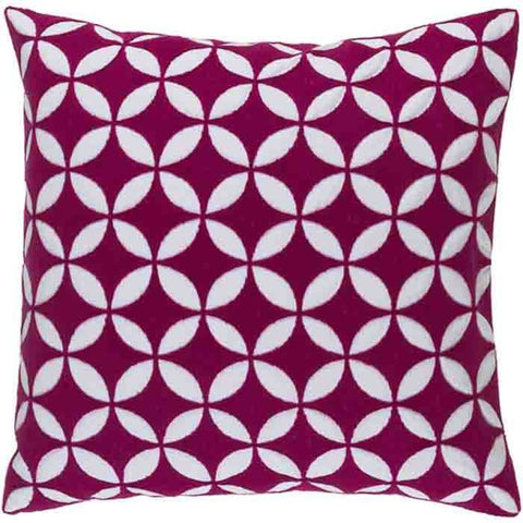 Image of Perimeter Pillow ~ Bright Pink - Cece & Me - Home and Gifts