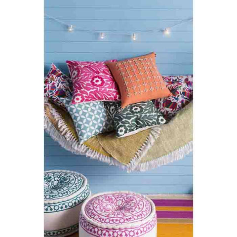Image of Perimeter Pillow ~ Mint - Cece & Me - Home and Gifts
