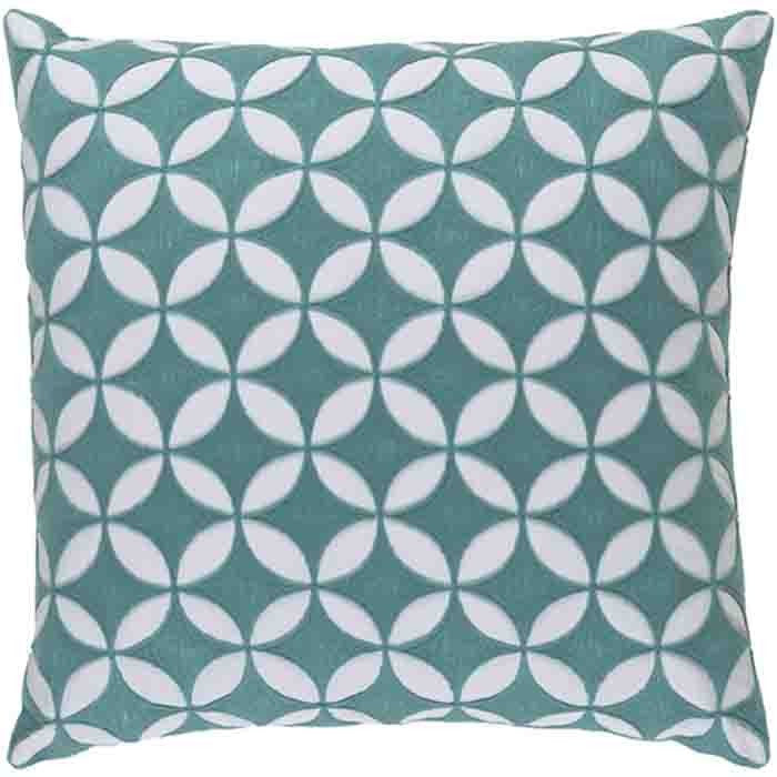 Perimeter Pillow ~ Mint - Cece & Me - Home and Gifts