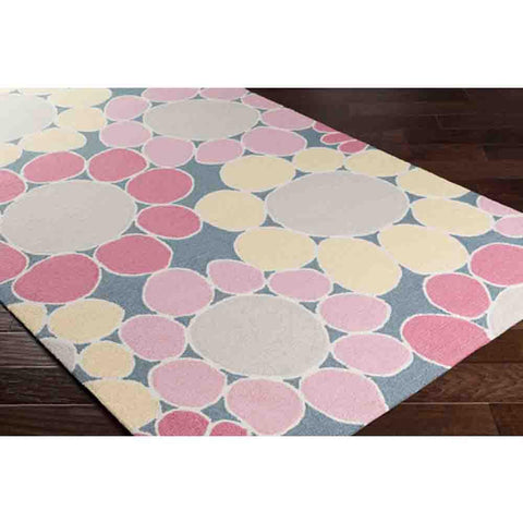 Peek-A-Boo Rug ~ Pink - Cece & Me - Home and Gifts