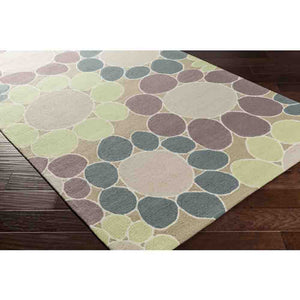 Peek-A-Boo Rug ~ Violet/Light Blue - Cece & Me - Home and Gifts