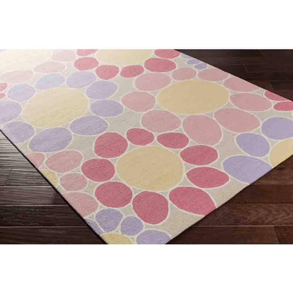 Peek-A-Boo Rug ~ Pink/Blue - Cece & Me - Home and Gifts