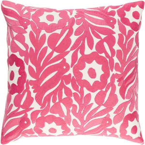 Pallavi Pillow ~ Bright Pink - Cece & Me - Home and Gifts