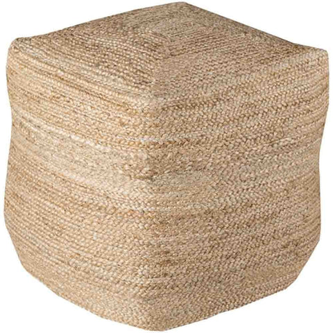 Image of Byrd Jute Pouf - Cece & Me - Home and Gifts
