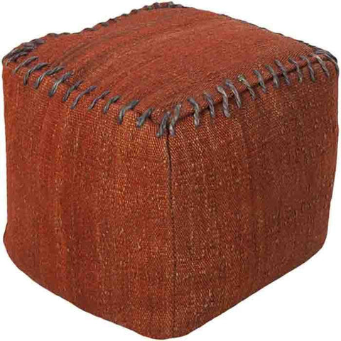 Image of Woodstock Pouf ~ Bright Red - Cece & Me - Home and Gifts