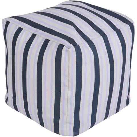 Image of Rain Outdoor Pouf ~ Blue - Cece & Me - Home and Gifts