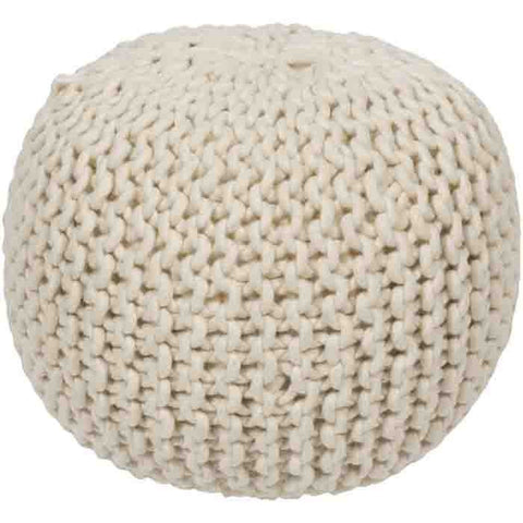 DeSoto Pouf ~ Tan - Cece & Me - Home and Gifts